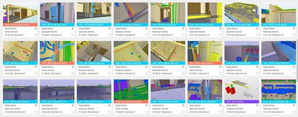 Clear overview of BIM issues